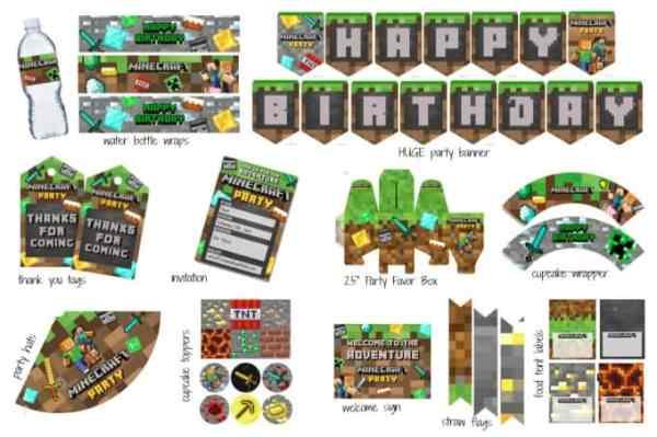 minecraft printable pictures # 21