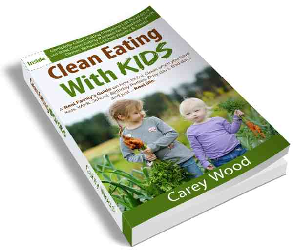 clean eating with kids - the book