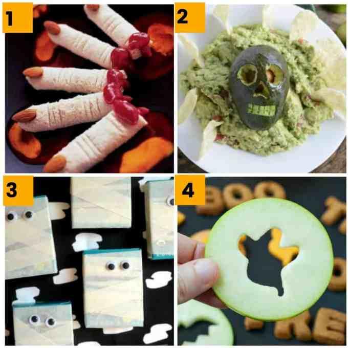 40 Gross But Healthyish Halloween Food Ideas