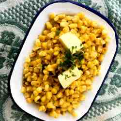 Quick Clean Eating Charred Corn