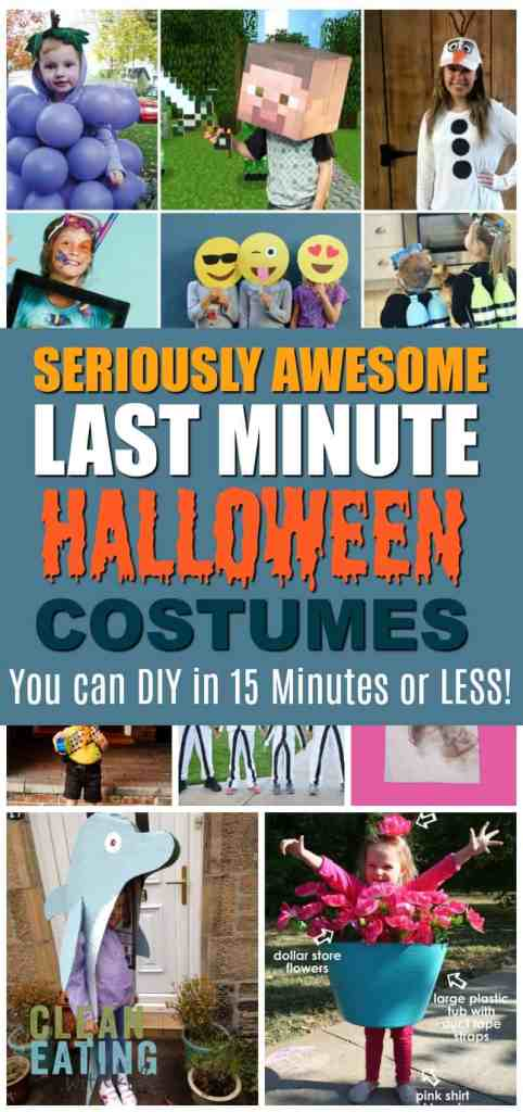 15 Last-Minute Halloween Costumes You Can Quickly DIY in under 15 minutes