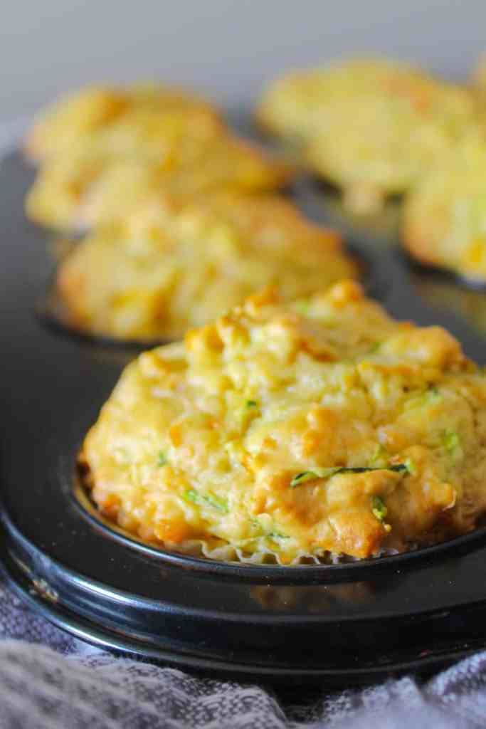 Clean Eating Savoury Vegetable muffins