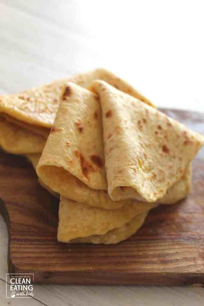 clean eating tortilla