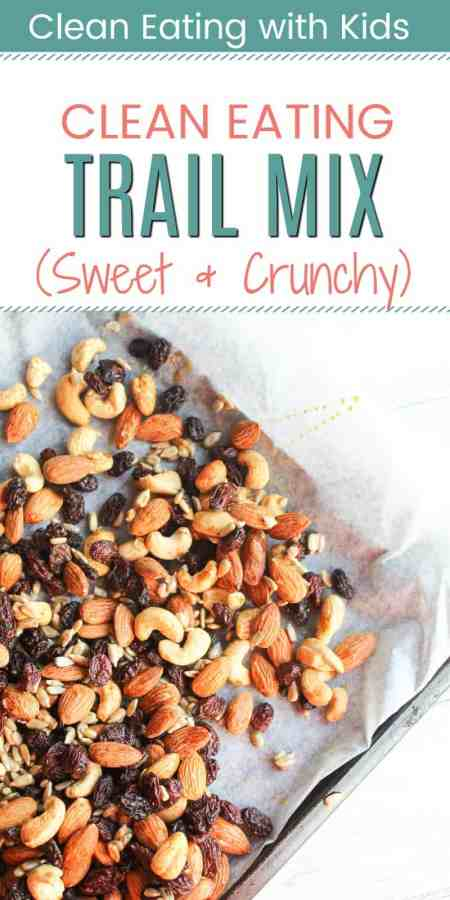 clean eating trail mix