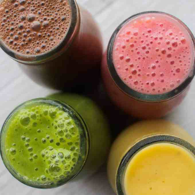 4 smoothies every mom should make