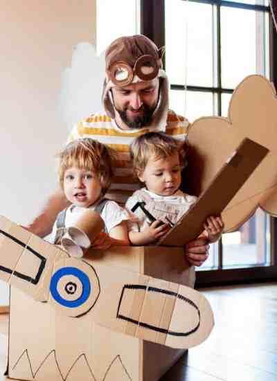 two weeks of family fun activities in lockdown
