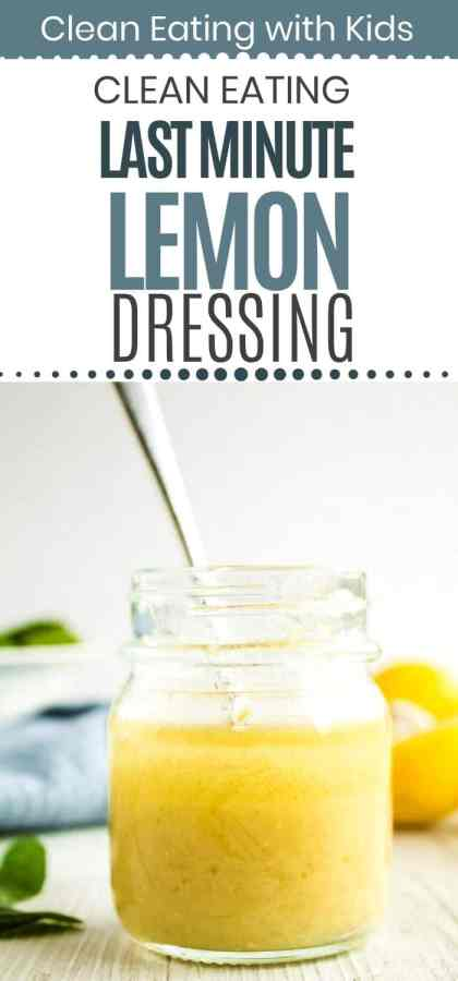 Clean Eating Lemon Dressing-1