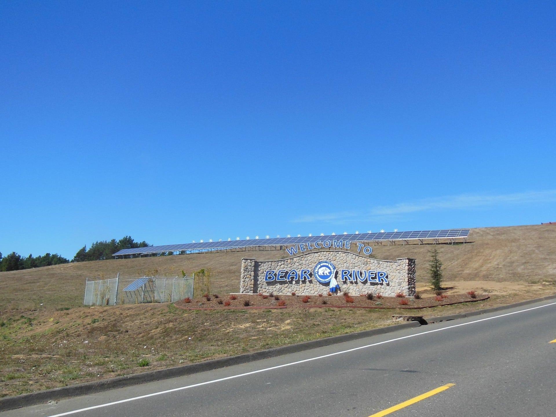 Solar+wind+storage Microgrid At The Bear River Bandu0027s Tish Non Community  Center.