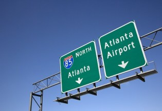 Atlanta airport signs. Photo Credit: Iofoto/ Bigstock.com.