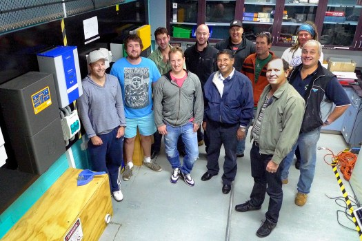 Swinburne students with off-grid equipment