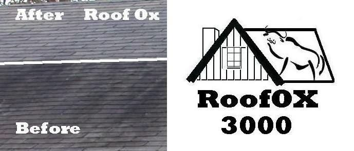 Roof Mold Shingle Cleaner OX 3000  Cleans roof mold and