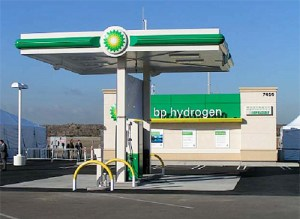 BP station at LAX