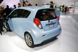 Chevrolet,Chevy,Spark EV, top 10,electric cars
