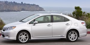 Lexus HS 250h – Test Driving a Hybrid Car
