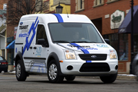 Ford Delivers Transit Connect Electric Vans To Large Fleets