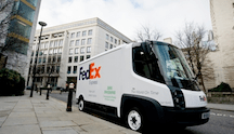 FedEx Modec Electric Van