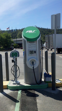 DC Fast Charge Canyonville OR