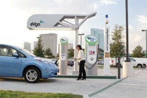 Battle for 10,000 Electric Car Charge Points in California