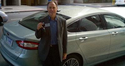 John Addison Drives 2013 Fusion Hybrid