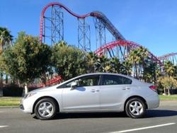 Honda,Civic,CNG,compressed natural gas,alternative fuel,nat gas,