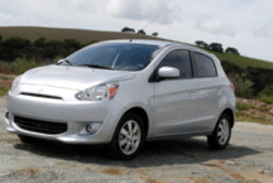 Mitsubishi,Mirage,economy car, MPG
