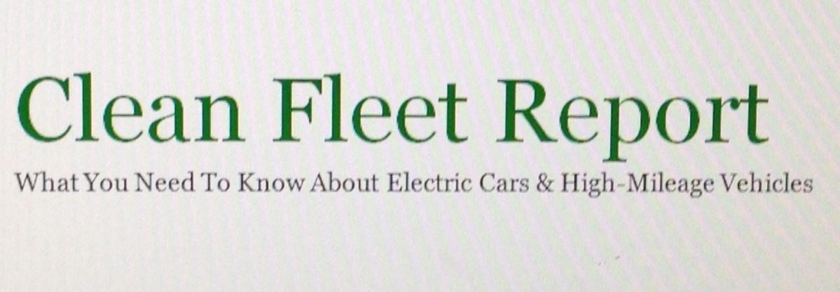 """""""Clean Fleet Report"""""""
