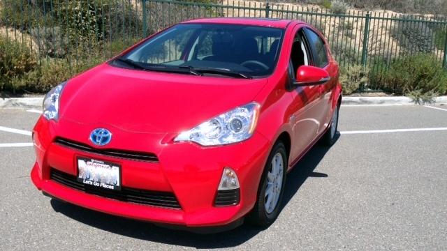 Toyota, Prius c, mpg
