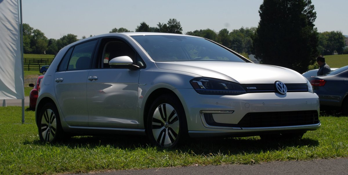 2015 VW, volkswagen,e-Golf,electric car