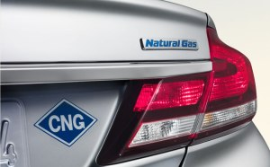 honda,civic, natural gas,cng,badge
