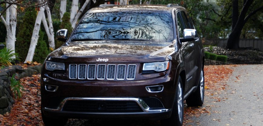 2014 Jeep Grand Cherokee, EcoDiesel,mpg, fuel economy
