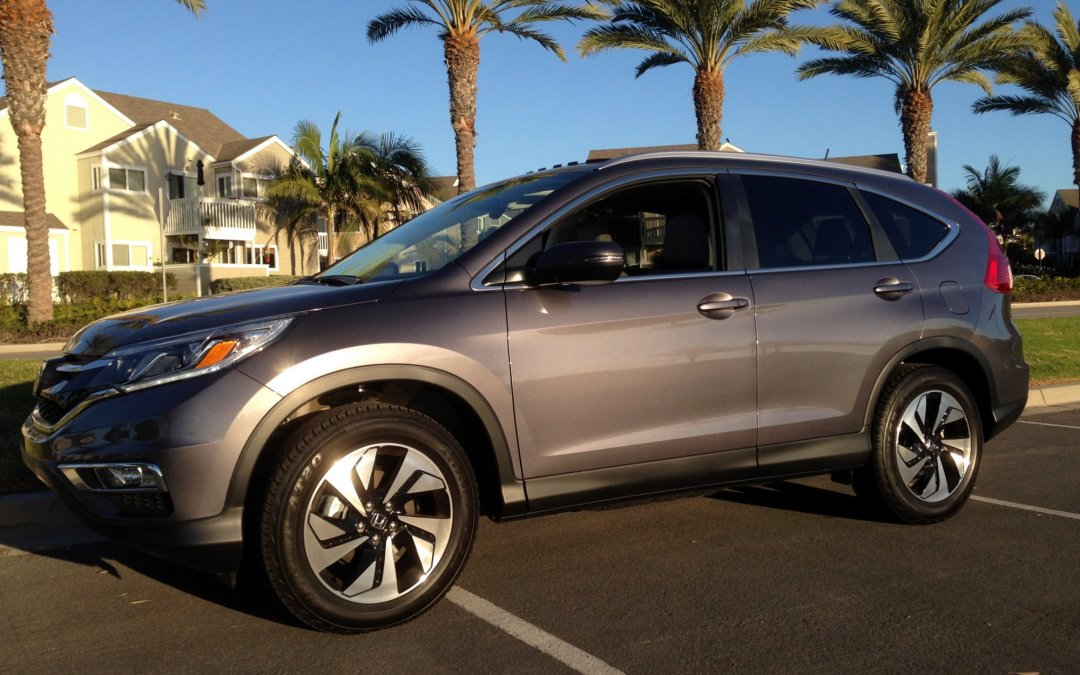 Road Test: 2015 Honda CR-V 2WD Touring