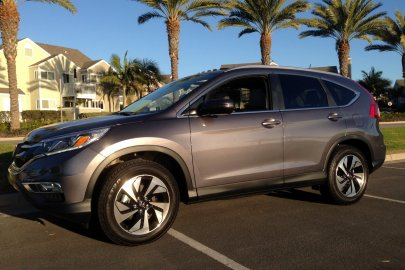 2015 Honda CR-V road test