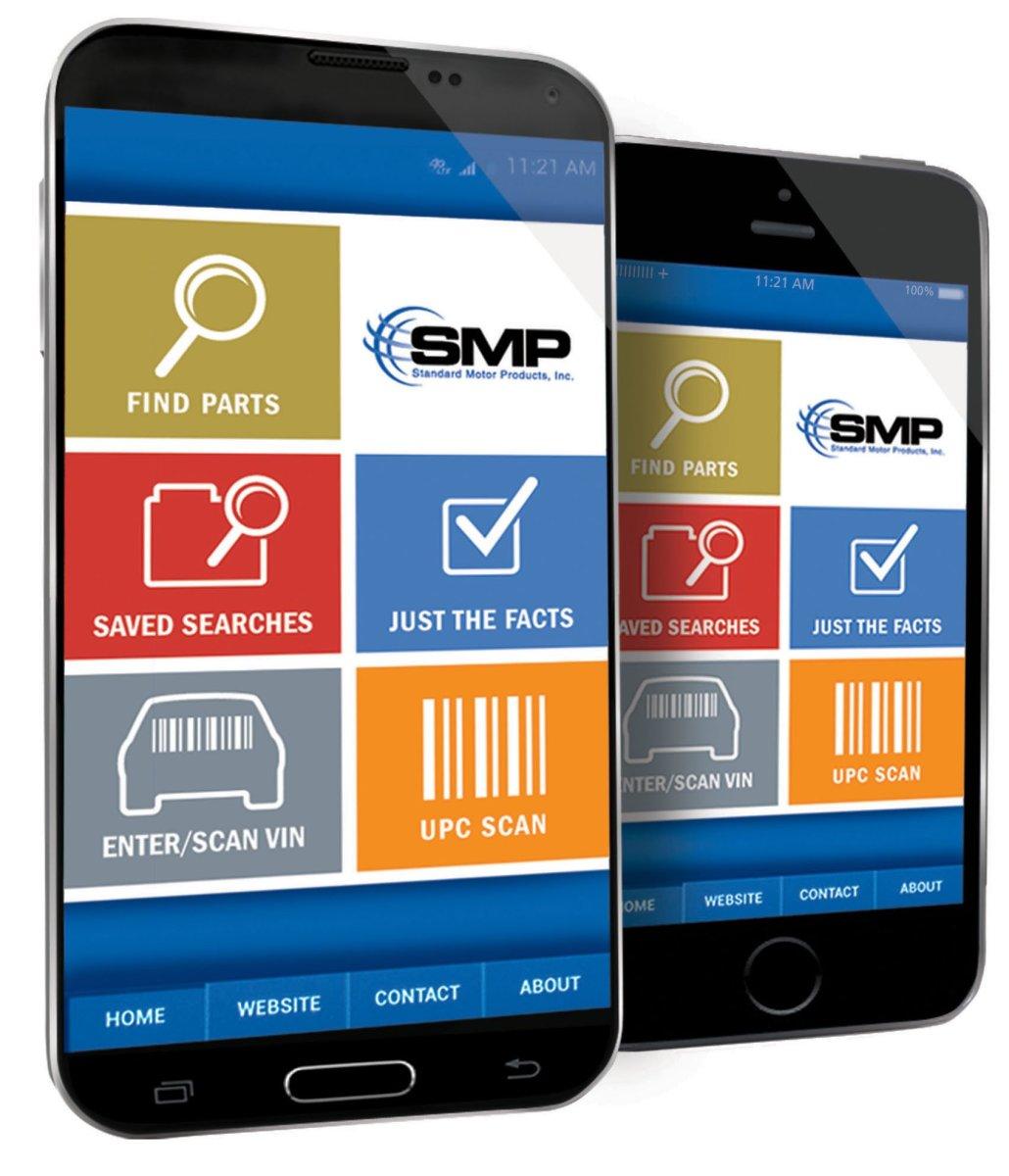 SMP app,find parts