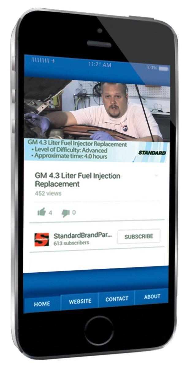 SMP App, video,parts finder