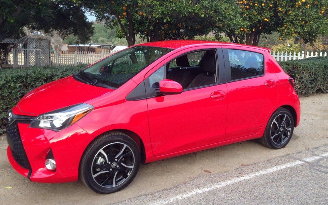 Road Test: 2015 Toyota Yaris 5-Door SE
