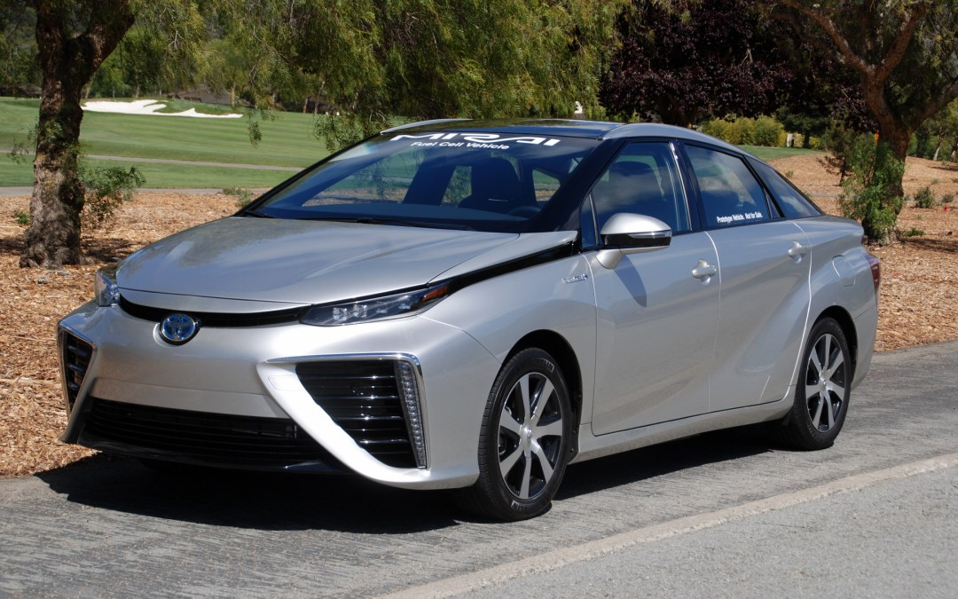 First Drive: 2016 Toyota Mirai Fuel Cell Electric Vehicle