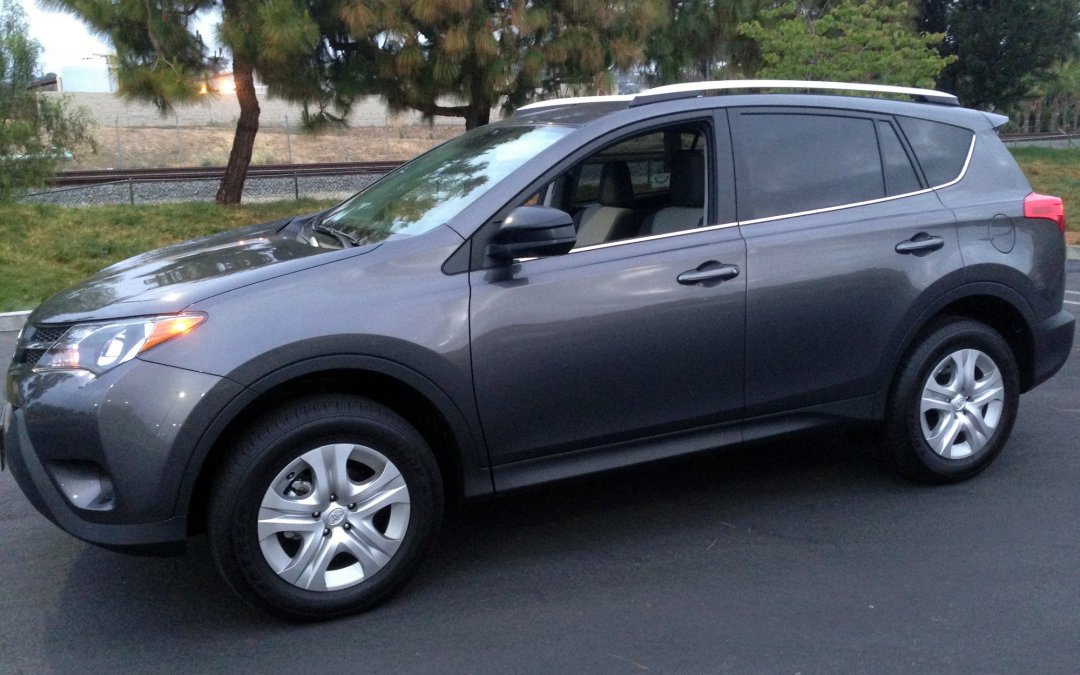 Road Test: 2015 Toyota RAV4 LE