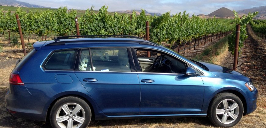 2015 VW, Volkwagen Golf Sportwagen, TDI clean diesel