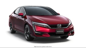Honda clarity,fuel cell,styling,LA Auto show