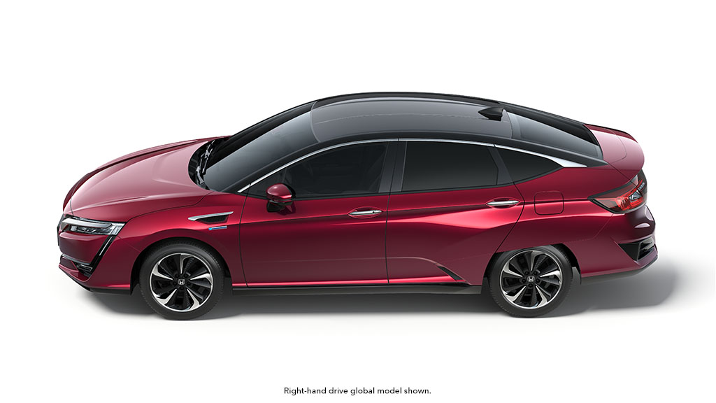 Honda Clarity Production Fuel Cell Model Introduced