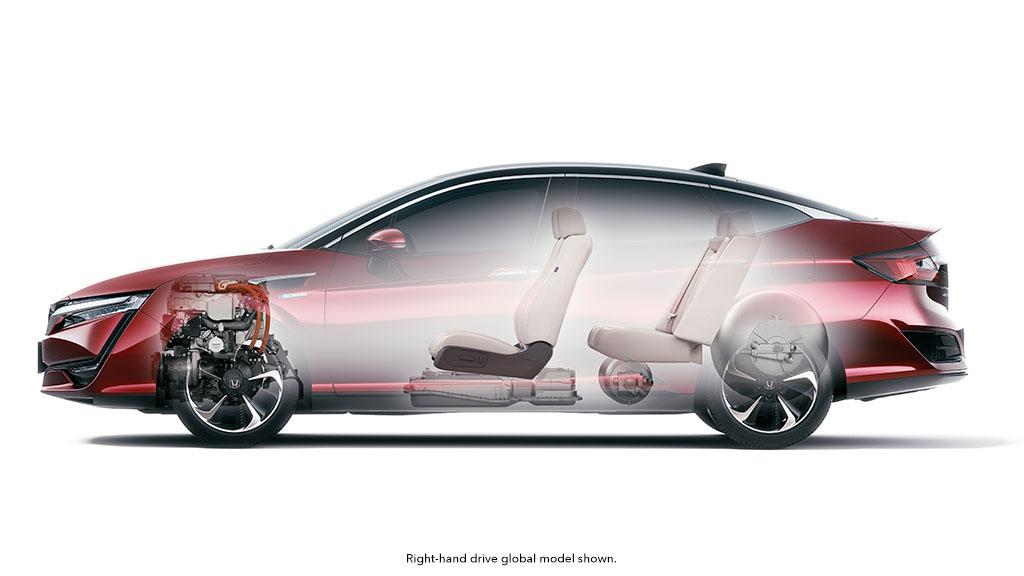 Honda Clarity FCEV,fuel cell, electric car