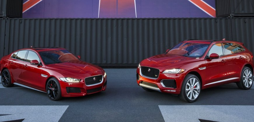 2017 Jaguar XE & F-Pace