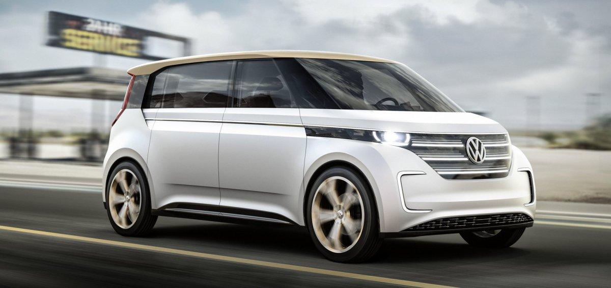 Volkswagen,BUDD-e,concept car,CES,electric car, EV