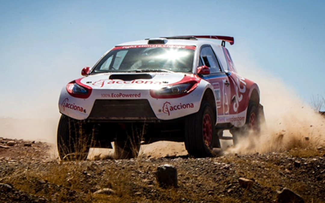 News: Acciona's Electric Car Almost Completes 2016 Dakar Rally