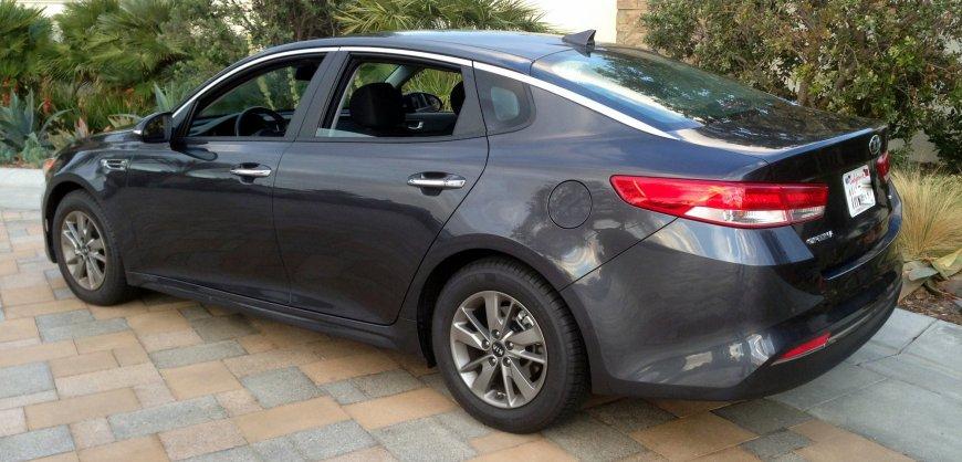 2016 Kia, Optima LX,mpg,fuel economy