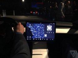 Tesla,Model 3,interior