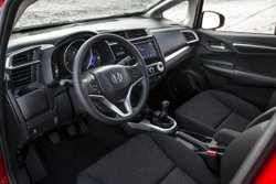 2016 Honda, Fit, interior