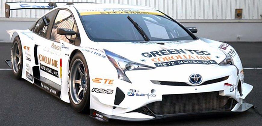 Toyota Prius Racing,, hybrid, green motorsports