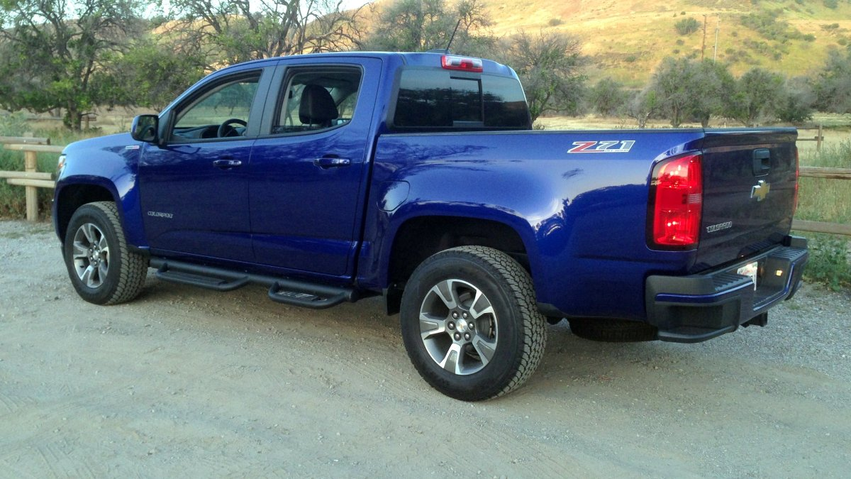 2016 Chevrolet Colorado Diesel