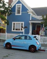 2016 Fiat 500e, EV,electric car, road tst